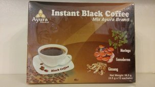 Ayura Herbal Instant black coffee